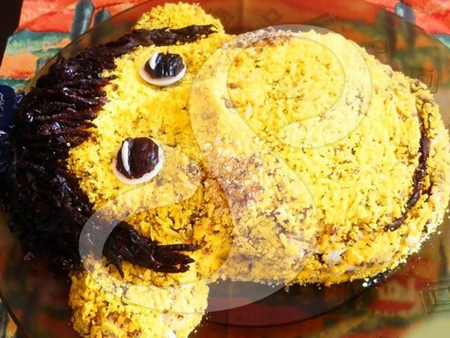 Салаты обезьяна рецепты с